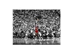Michael Jordan Last Shot Poster