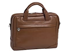 "Montclare Leather 13.3"" Netbook Laptop Brief"