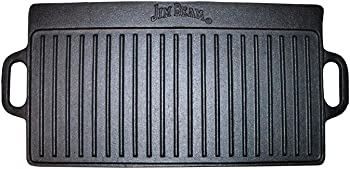 Jim Beam JB0168 Double Sided Cast Iron Griddle