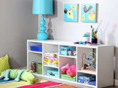 Reveal 8 Cubby Shelving (2  Colors)