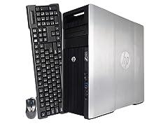 HP Z620 Dual Xeon E5-2609 WorkStation