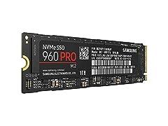 Samsung 960 PRO NVMe M.2 SSD, 1TB