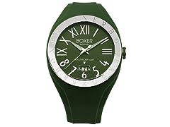 Men's BOX 40 GREEN Green Dial Watch