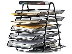 Halter Mesh 5-Tier Desktop Organizer