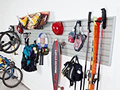Flow Wall 24 Sq Foot Deluxe Sports Storage