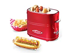 Retro 2-Slot Hot Dog Toaster
