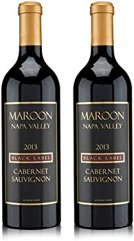 2-Pack Maroon Black Label Napa Valley Cabernet Sauvignon Wine