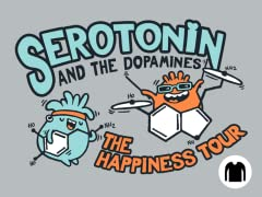 Serotonin & the Dopamines LS Tee
