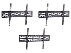 "3pk - 4pc Tilt Mounting Kit for 20-47"" TVs"