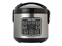 Aroma Housewares ARC-914SBD 2-8-Cups (Cooked) Digital Cool
