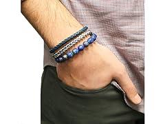 Men's 3 Pack Stackable Bracelets