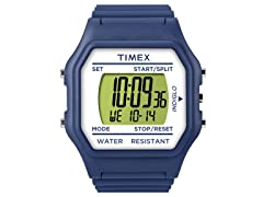 Unisex Fashion Digitals Jumbo Blue Watch