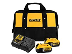 DeWALT 2-Battery Starter Kit