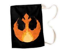 Rebel Flames Large Laundry Bag