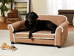 Toque Sofa Chestnut