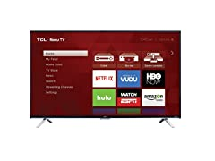 "TCL 65"" LED 4K 120 HZ Wi-Fi ROKU STREAMING"