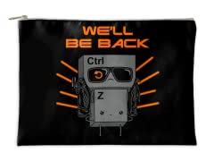 We'll Be Back Accessory Pouch