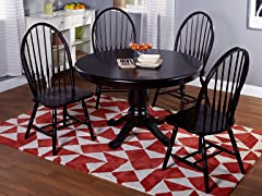 TMS 5-Piece Windsor Dining Set