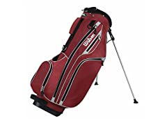 Wilson Lite Carry Golf Bag - Red