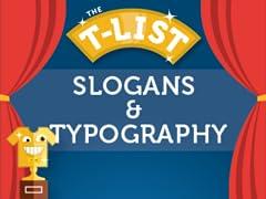 Slogans & Typography