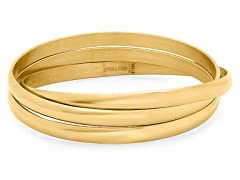 18kt Plated Set of 3 Bangles