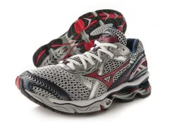 Mizuno Men's Wave Creation 12, White/Red