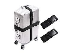 2 PCS Suitcase Belts