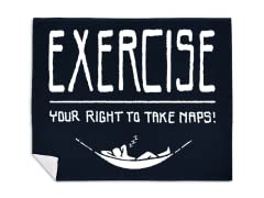 """Exercise Your Rights"" Blanket"