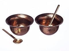 Copper Condiment Set
