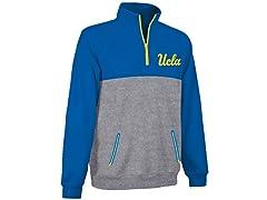 UCLA Men's Polyfleece 1/4 Zip