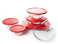 Pyrex Easy Grab™ 11pc Bake 'N Store Set