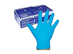 Sempermed 4-Mil Blue Nitrile Gloves