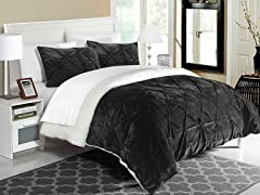 Chic Home Josepha Sherpa Comforter Set