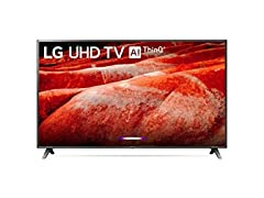 "LG 75"" 75UM8070PUA 4K Ultra HD Smart TV"