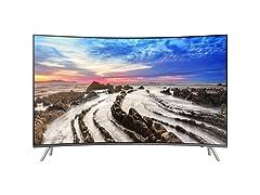 "Samsung 65"" Class Curved 4K UHD Smart TV"