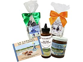 Le Caramel Holiday Sampler, 5-Pc Sampler
