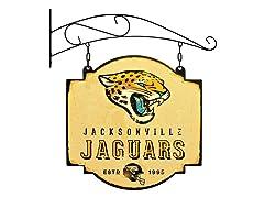 Jacksonville Jaguars Vintage Tavern Sign