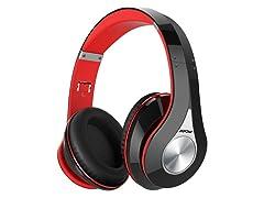 MPOW 059 Bluetooth Headphones - Black/Red