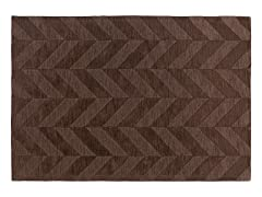 Brown Hand Woven Rug 5-Sizes