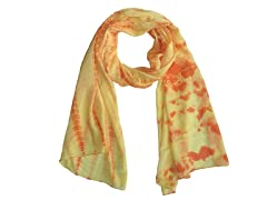 Tie Dye Wrap Yellow & Orange