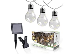 Touch of ECO Edison Solar String Lights