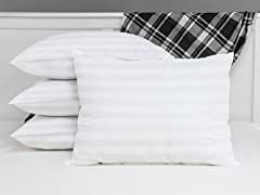 4-Pack Biopedic Eco-Classic 240-Thread Count Pillows