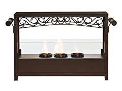 Ainslie Portable Indoor/Outdoor Fireplace