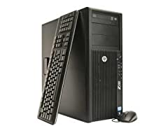 HP Z220 Intel i5 Quad Core CMT Desktop