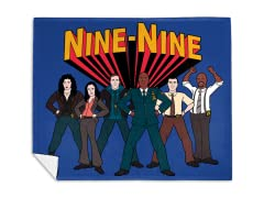 """Super Nine-Nine!"" Mink Fleece Blanket"