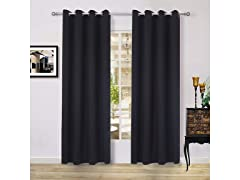 Thermal Blackout Window Curtain Drapery