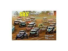 MOTO365 2021 SXS Racing Wall Calendar