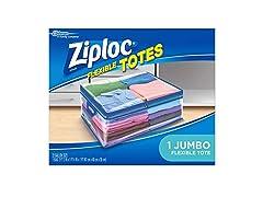 Ziploc Flexible Tote, Jumbo, 1 Ct