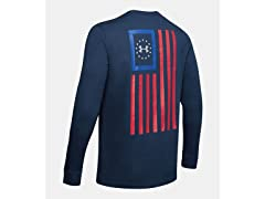 UA Freedom New Flag Long Sleeve T-Shirt