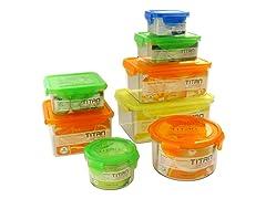 Titan 16-Piece Food Storage Box Set